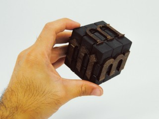 Moveable Rubik Type