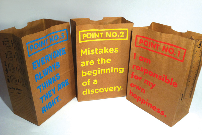 One Paper Bag